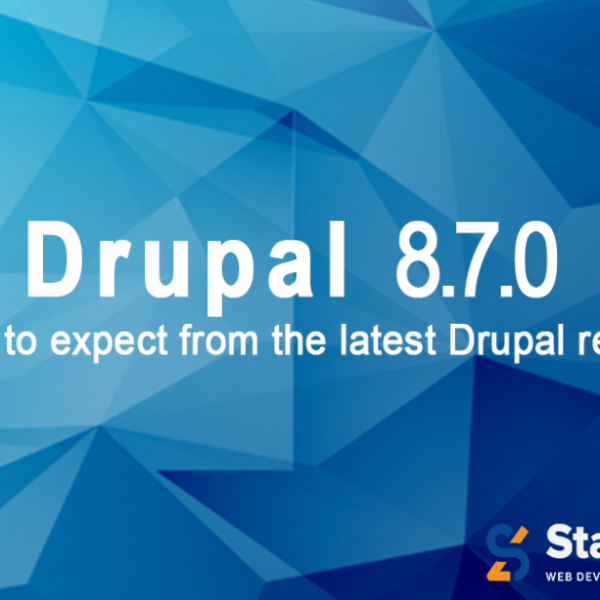 DRUPAL 8.7.0: WHAT'S NEW?